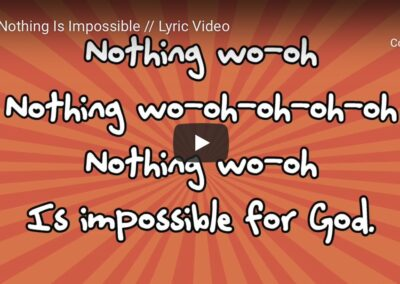 Nothing Is Impossible (Lyric Video)