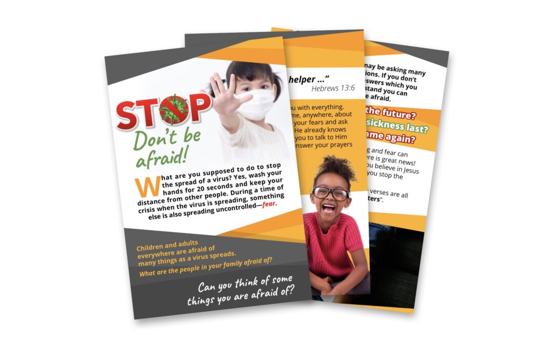 Stop — Don't Be Afraid! (Booklet)